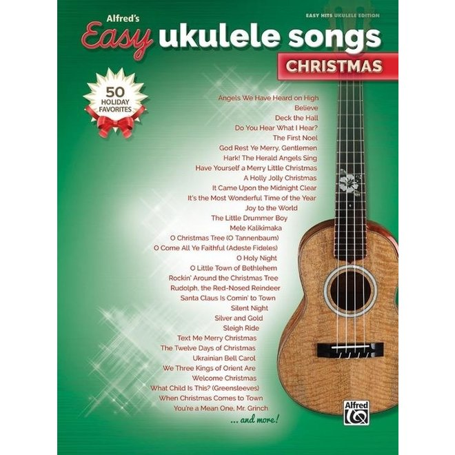 Alfred's - Easy Ukulele Songs, Christmas