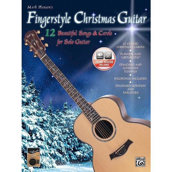 Alfred's - Fingerstyle Christmas Guitar