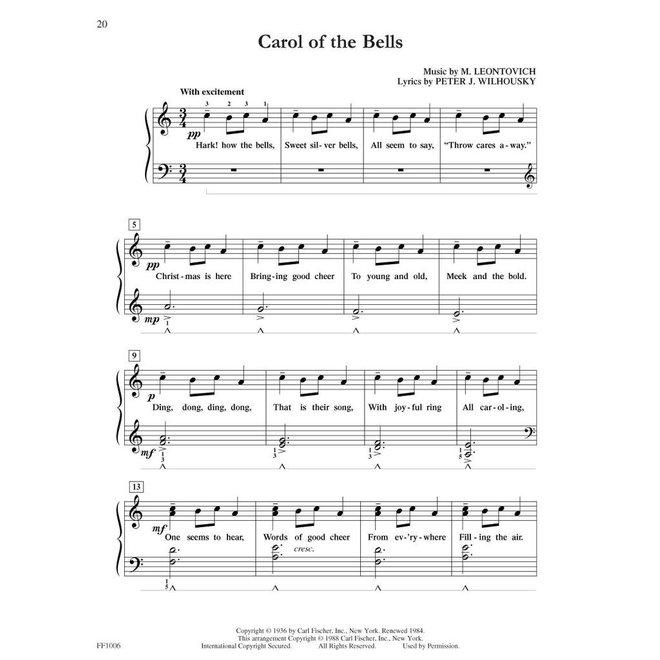 Hal Leonard - Faber FunTime Piano, Level 3A-3B, Christmas