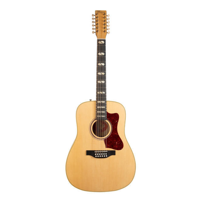 Norman - B50 12-String Dreadnought Acoustic, Solid Sitka Spruce Top, Solid Flame Maple B/S, Natural (w/TRIC case)