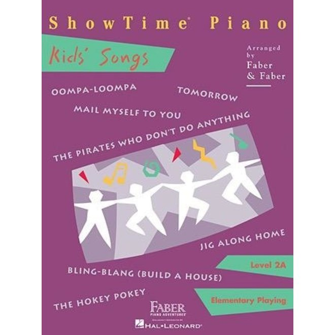 Hal Leonard - Faber ShowTime Piano, Level 2A, Kids' Songs