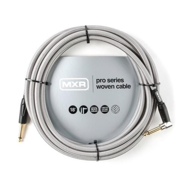 MXR - Pro Series MXR Woven Instrument Cable, 18' RA