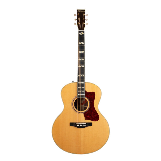 Norman - ST68 Mini Jumbo Acoustic, Solid Sitka Spruce Top, Solid Rosewood B/S,  Natural, LR Baggs Anthem