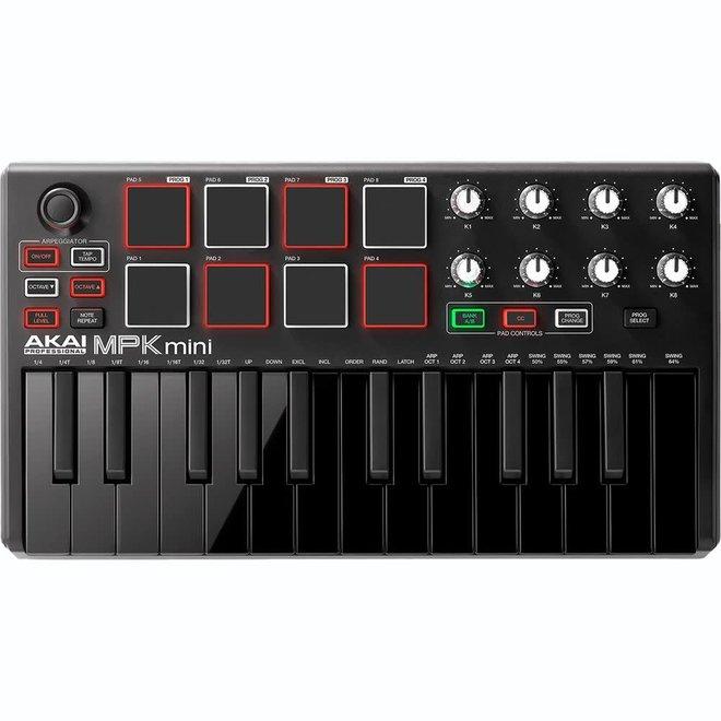Akai - MPK Mini Mk3 Compact Controller w/Black