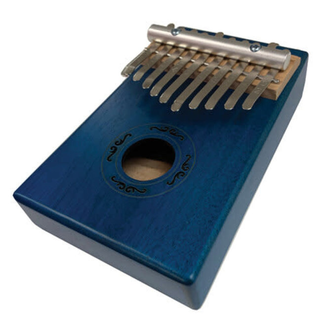 Beaver Creek - Kalimba, 10 Key, Trans Blue