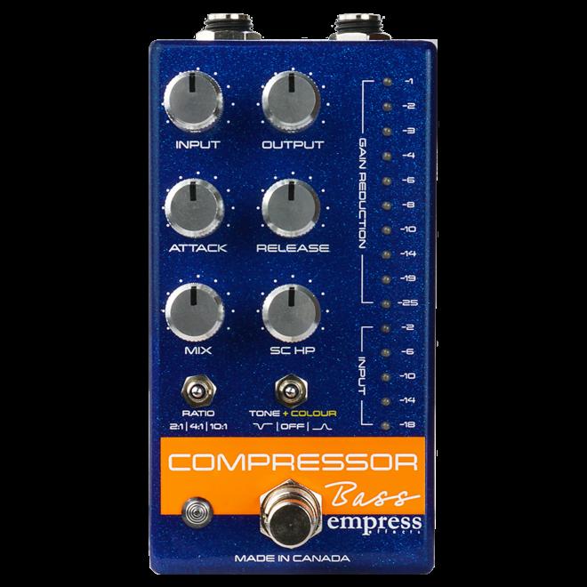 Empress Effects - Bass Compressor Pedal, Blue