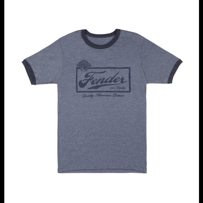 Fender - Blue Beer Label T-Shirt