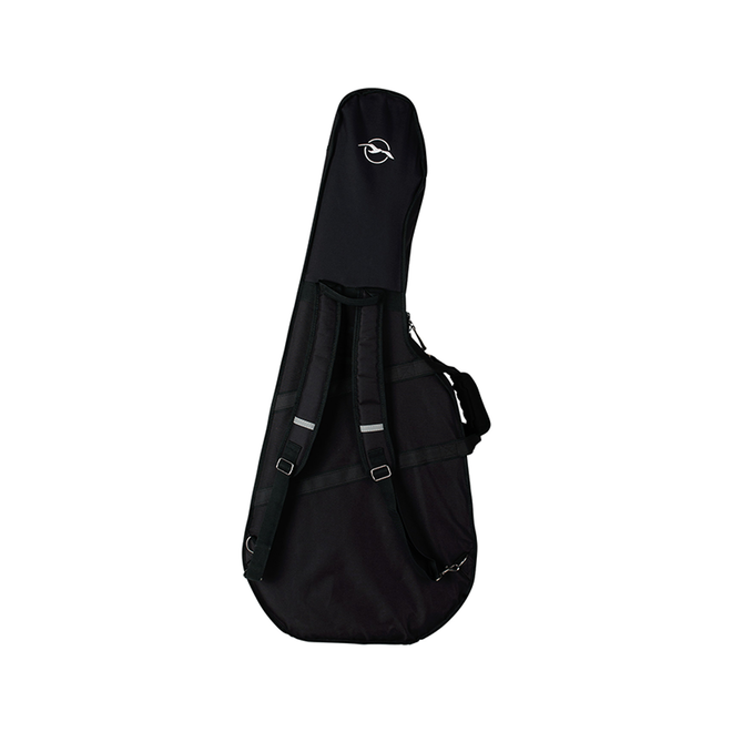 Seagull - TRIC Case, Concert Hall/Classical/Folk, Deluxe Black, w/Seagull Logo