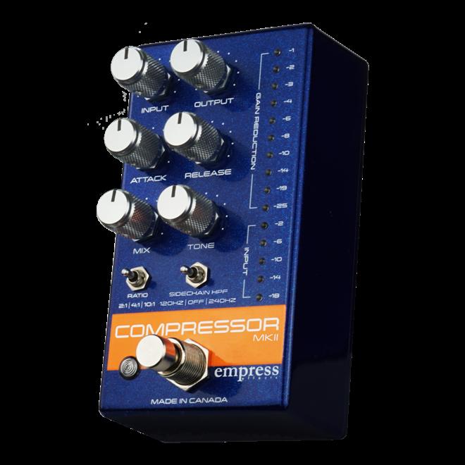 Empress Effects - Compressor MKII Pedal, Blue