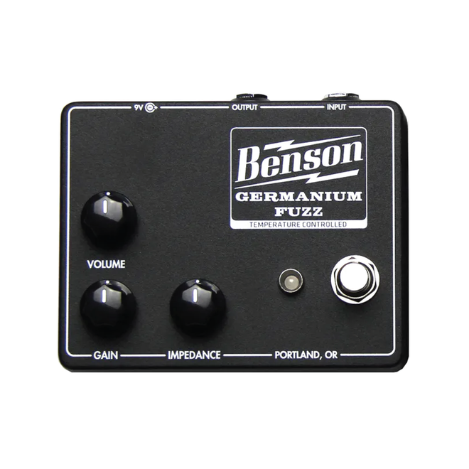 Benson Amps - Germanium Fuzz, Studio Black