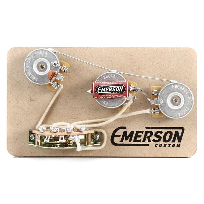 Emerson Custom - Stratocaster Prewired Kit