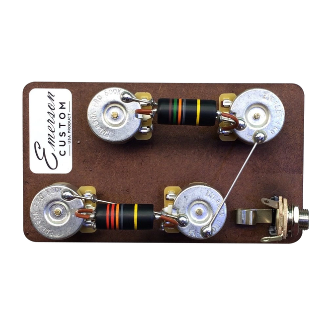 Emerson Custom - Les Paul Prewired Kit