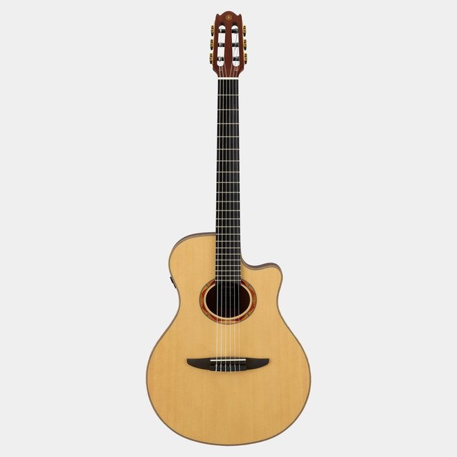Yamaha - Nylon-string Acoustic-Electric Guitar w/Spruce Top, Solid Walnut Back & Sides, Natural (w/gigbag)