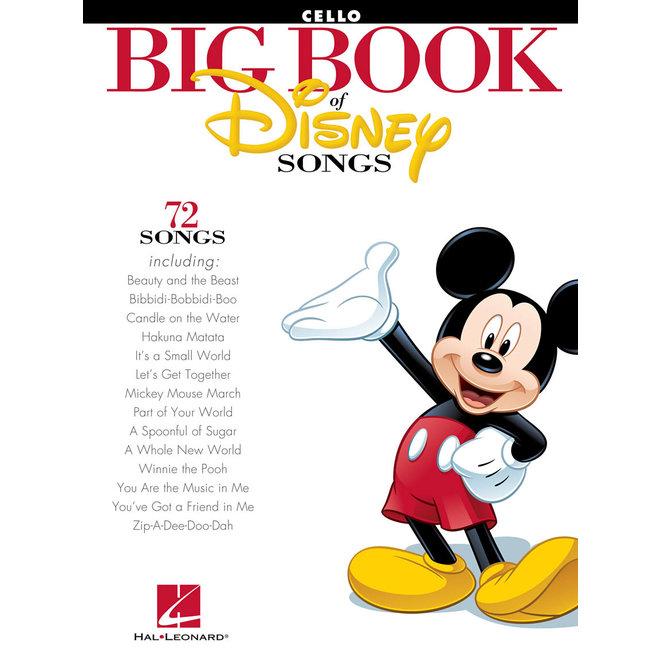 Hal Leonard - The Big Book of Disney Songs, Cello
