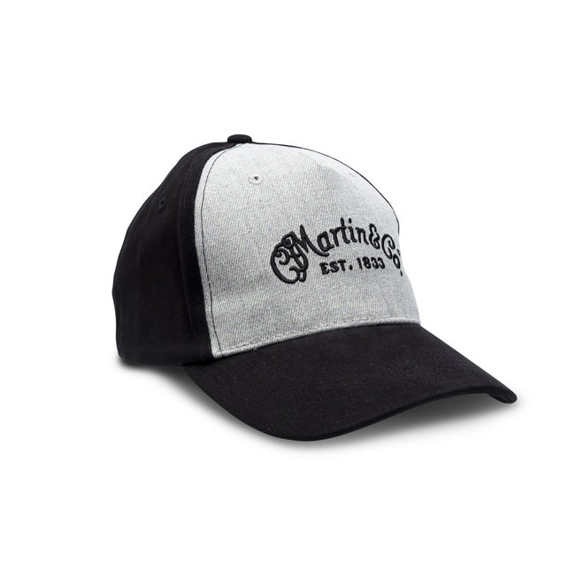 Martin - Fitted Hat, CFM Logo, Gray (L/XL)