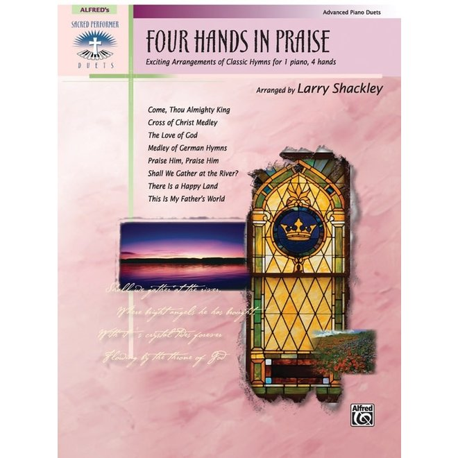 Alfred's - Four Hands In Praise, Early Advanced Piano