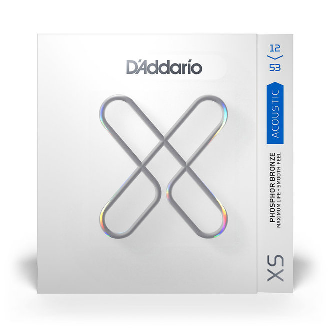 D'Addario - XS Coated Phospher Bronze Acoustic Strings, Light