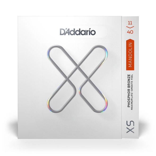 D'Addario - XS Coated Phospher Bronze Mandolin Strings, Medium