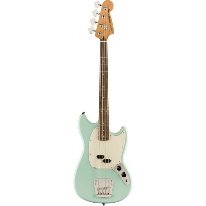 Squier - Classic Vibe '60s Mustang Bass, Laurel Fingerboard, Surf Green