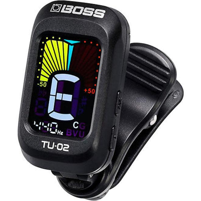 Boss - TU-02 Clip-On Tuner