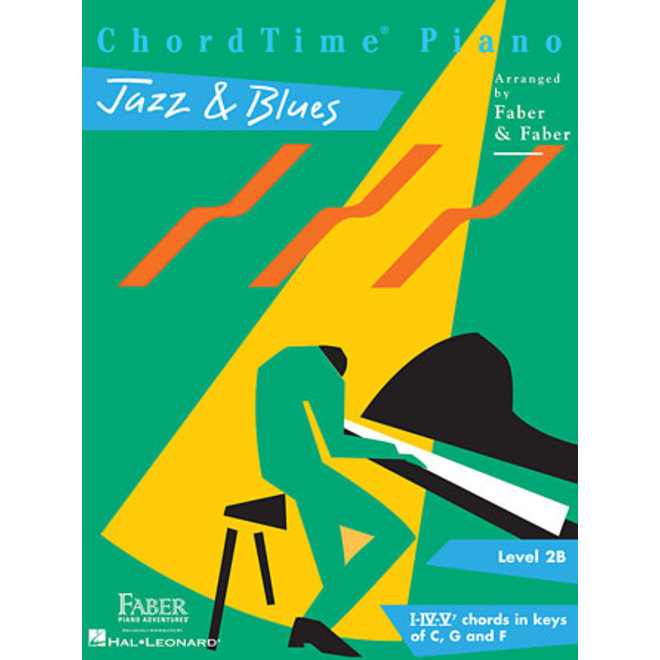Hal Leonard - Faber ChordTime Piano, Level 2B, Jazz & Blues