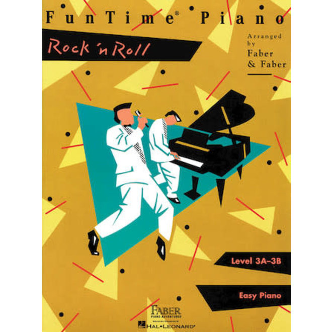 Hal Leonard - Faber FunTime Piano, Level 3A-3B, Rock 'n Roll