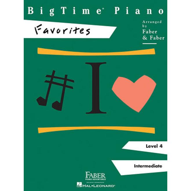 Hal Leonard - Faber BigTime Piano, Level 4, Favorites