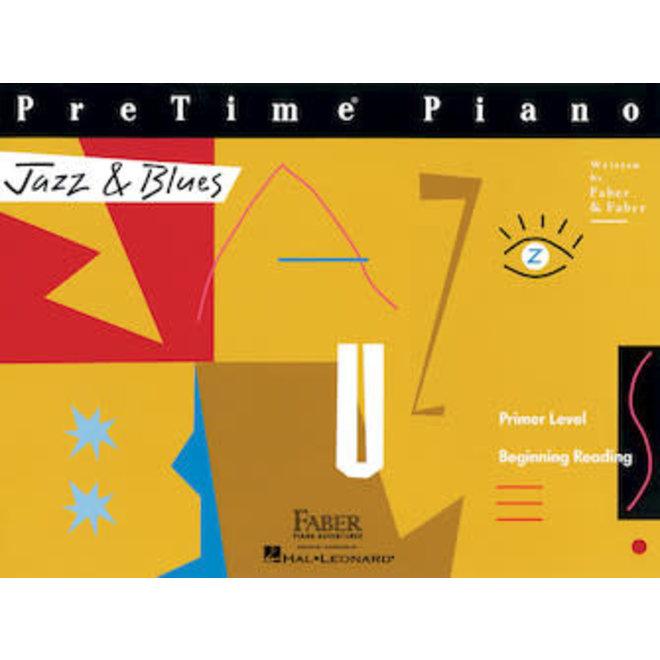 Hal Leonard - Faber PreTime Piano, Primer Level, Jazz & Blues