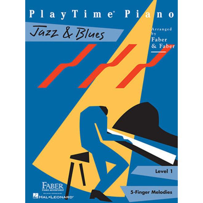 Hal Leonard - Faber PlayTime Piano, Level 1, Jazz & Blues