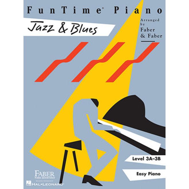 Hal Leonard - Faber FunTime Piano, Level 3A-3B, Jazz & Blues