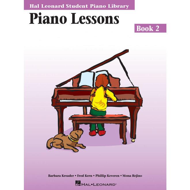Hal Leonard - Piano Lessons, Student Piano Library, Book 2