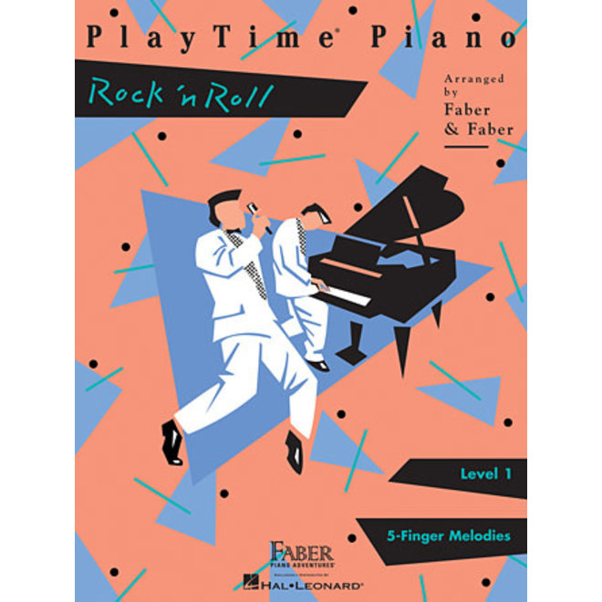 Hal Leonard - Faber PlayTime Piano, Level 1, Rock 'n' Roll