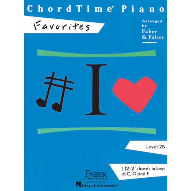 Hal Leonard - Faber ChordTime Piano, Level 2B, Favorites