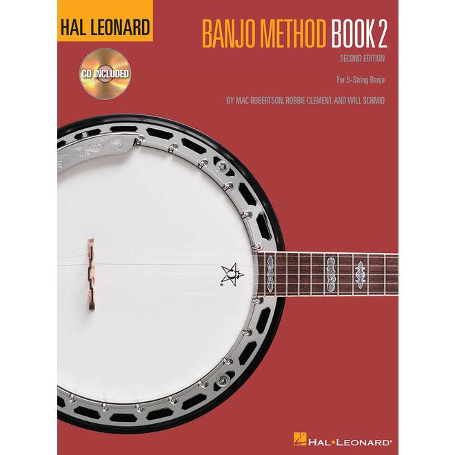 Hal Leonard - Banjo Method Book 2, Book and CD