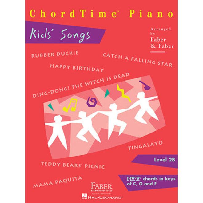 Hal Leonard - Faber ChordTime Piano, Level 2B, Kids' Songs