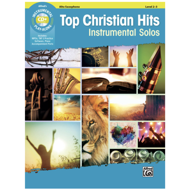 Alfred's - Top Christian Hits Instrumental Solos (Alto Sax)
