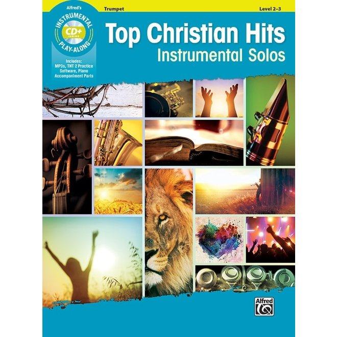 Alfred's - Top Christian Hits Instrumental Solos (Trumpet)