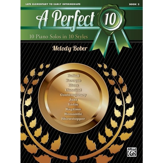 Alfred's - A Perfect 10, Book 2, by Melody Bober