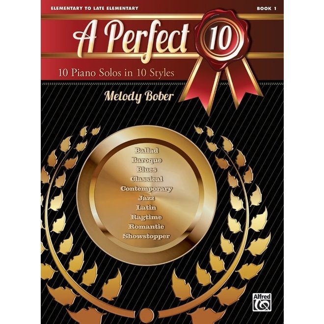 Alfred's - A Perfect 10, Book 1, by Melody Bober