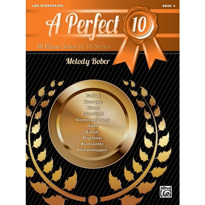 Alfred's - A Perfect 10, Book 5, by Melody Bober