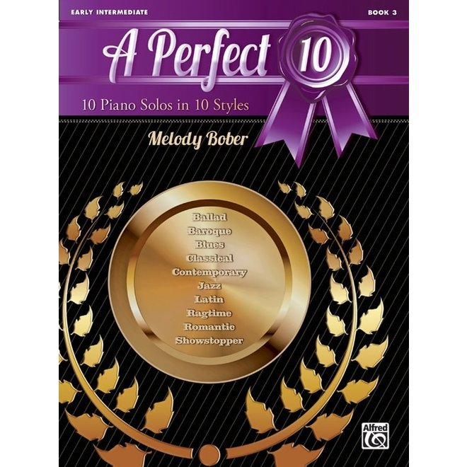 Alfred's - A Perfect 10, Book 3, by Melody Bober