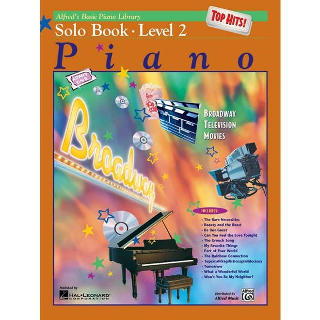 Alfred's - Basic Piano Course: Solo Book 2