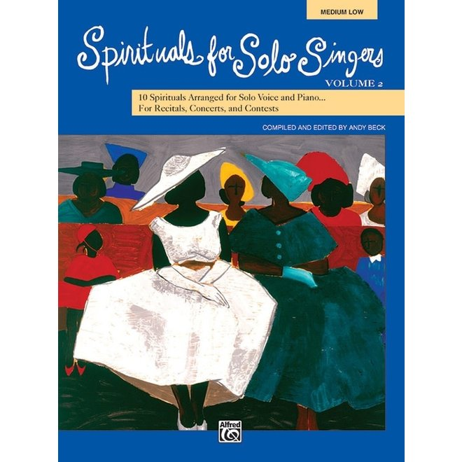 Alfred's - Spirituals for Solo Singers Volume 2