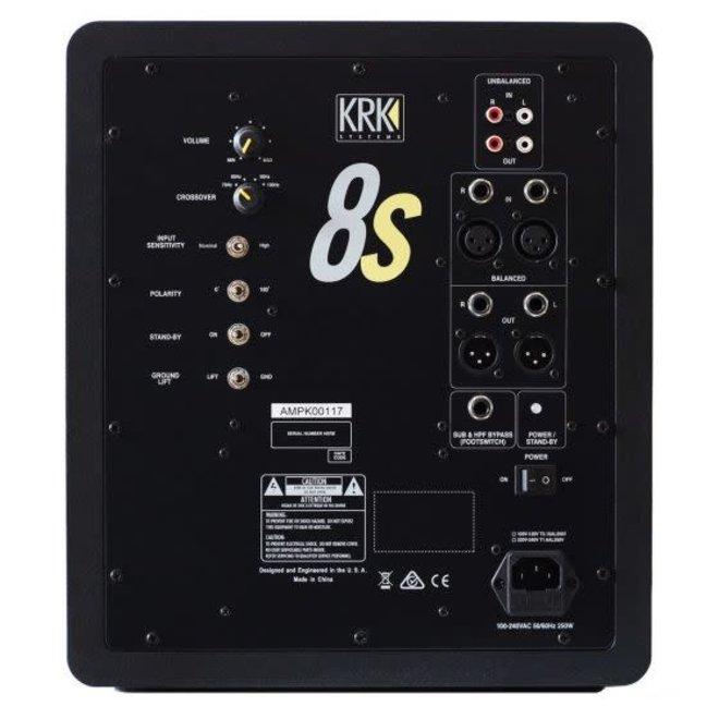 """KRK - 8S2 Series 2 8"""" Studio Subwoofer"""