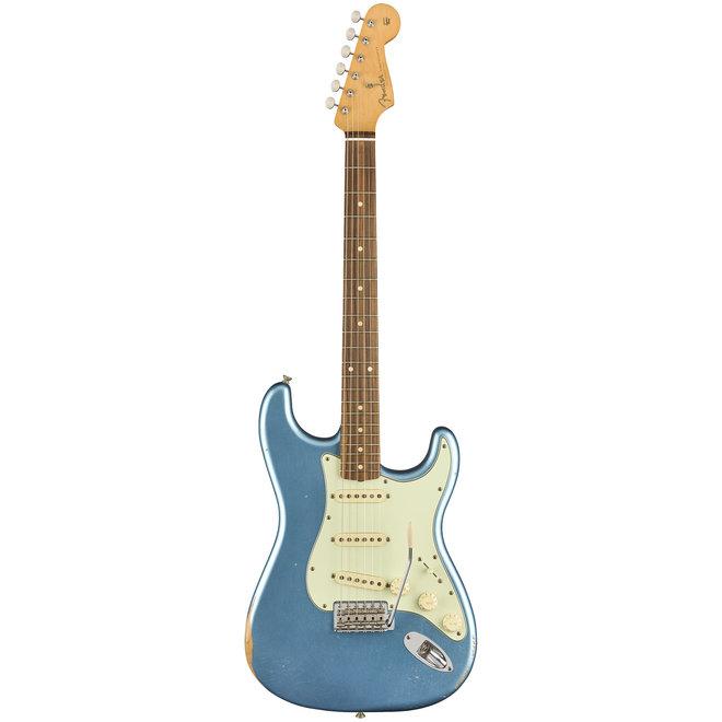 Fender - Vintera Road Worn '60s Stratocaster, Pau Ferro Fingerboard, Lake Placid Blue