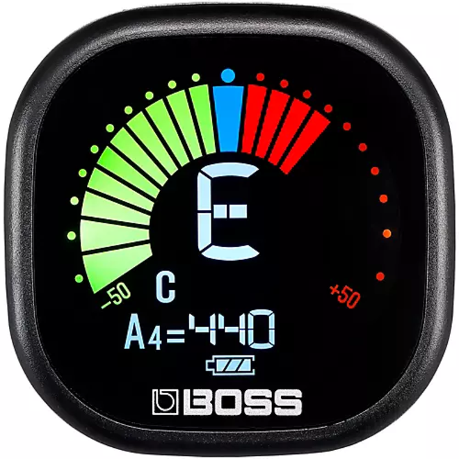 Boss - TU-05 Rechargeable Clip-On Tuner