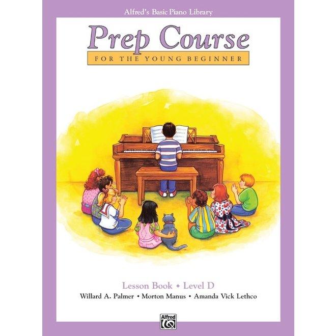 Alfred's - Basic Piano Prep Course: Lesson Book D