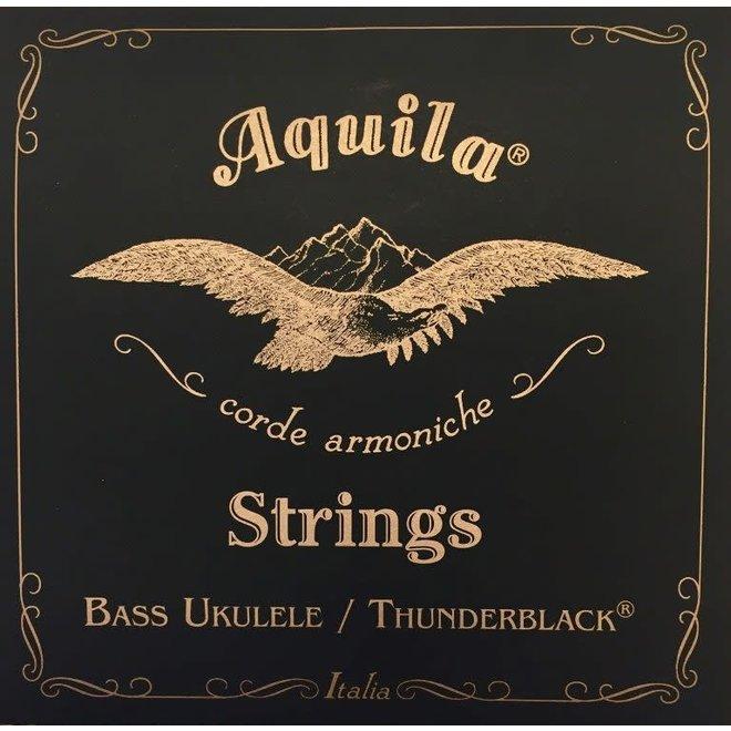 Aquila - Thunderblack Bass Ukulele String Set, 4-String