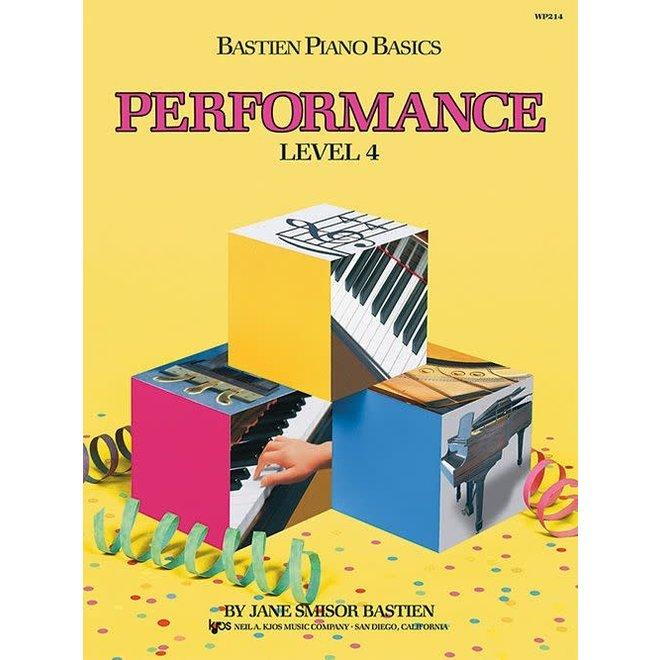 Bastien - Piano Basics, Level 4 Performance