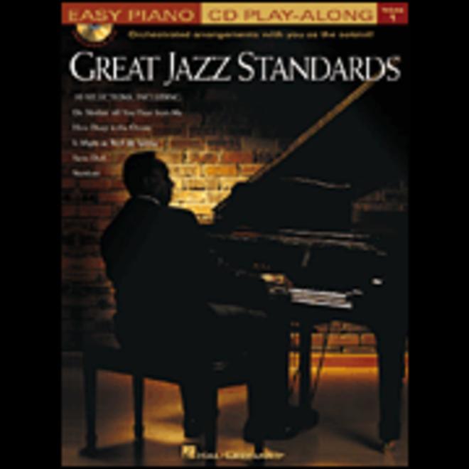 Hal Leonard - Great Jazz Standards, Easy Piano w/CD, Volume 1